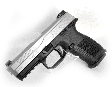 FNH-FNS-40-40-S&W pistol